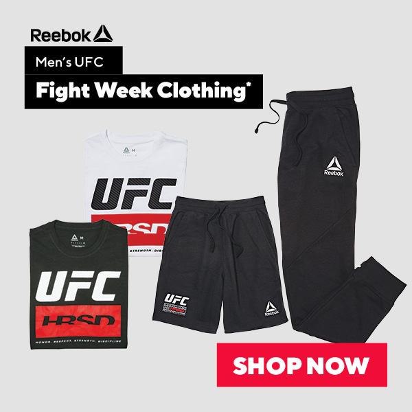 Reebok Men's UFC Fight Week Clothing
