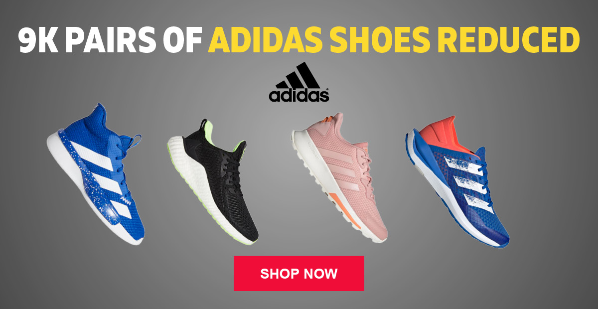 9K Pairs of adidas Shoes Reduced