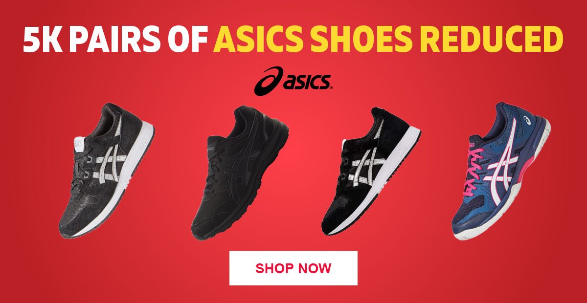 5K Pairs of Asics Shoes Reduced