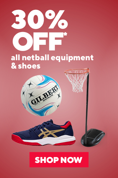 All Netball Equipment & Shoes