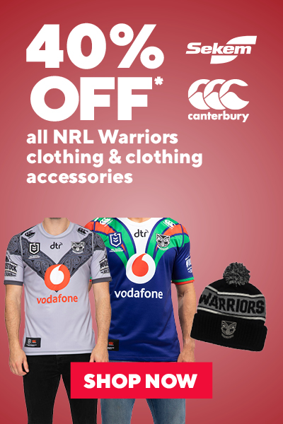 NRL Warrirors Clothing & Clothing Accessories