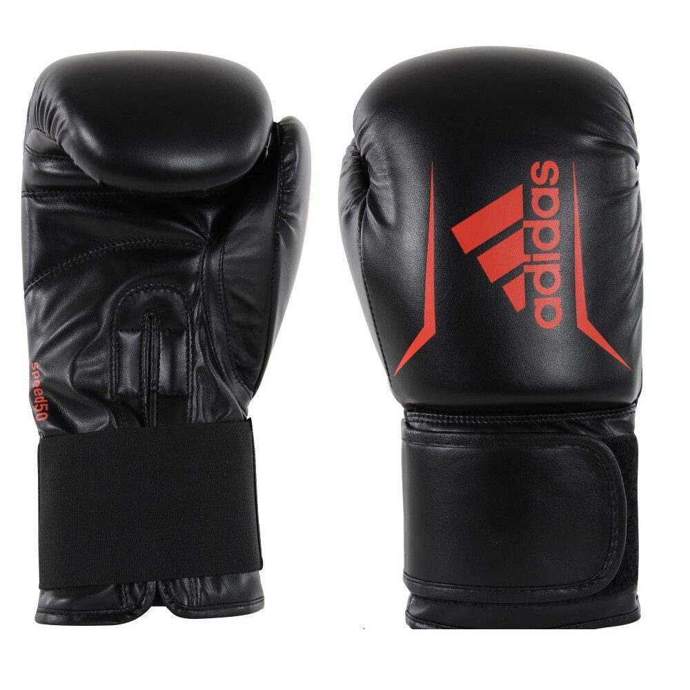 Adidas Boxing Gloves Speed 50 Black Red